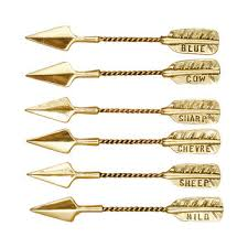 arrow cheese markers set
