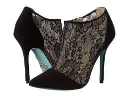 betsy johnson lace heels