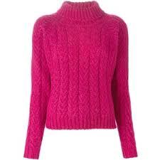 Cotton blend cable knit turtleneck.jpg