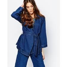 jean jacket kimono style
