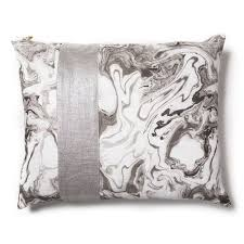 marble patch pillow