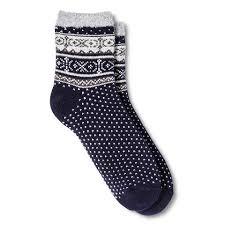 Xhilaration double lined acrylic blend socks