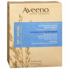 Bath Soak Aveeno Soothing Bath Treatment