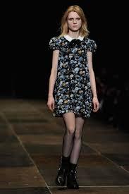 dress Saint Laurent by Hedi Slimane