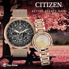 Gold Citizen Watch