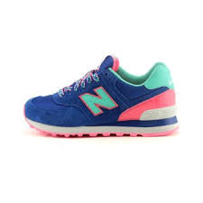 New Balance Leather and Rubber Sneakers