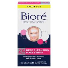 Pore Treatment Biore Deep Cleansing Pore Strips